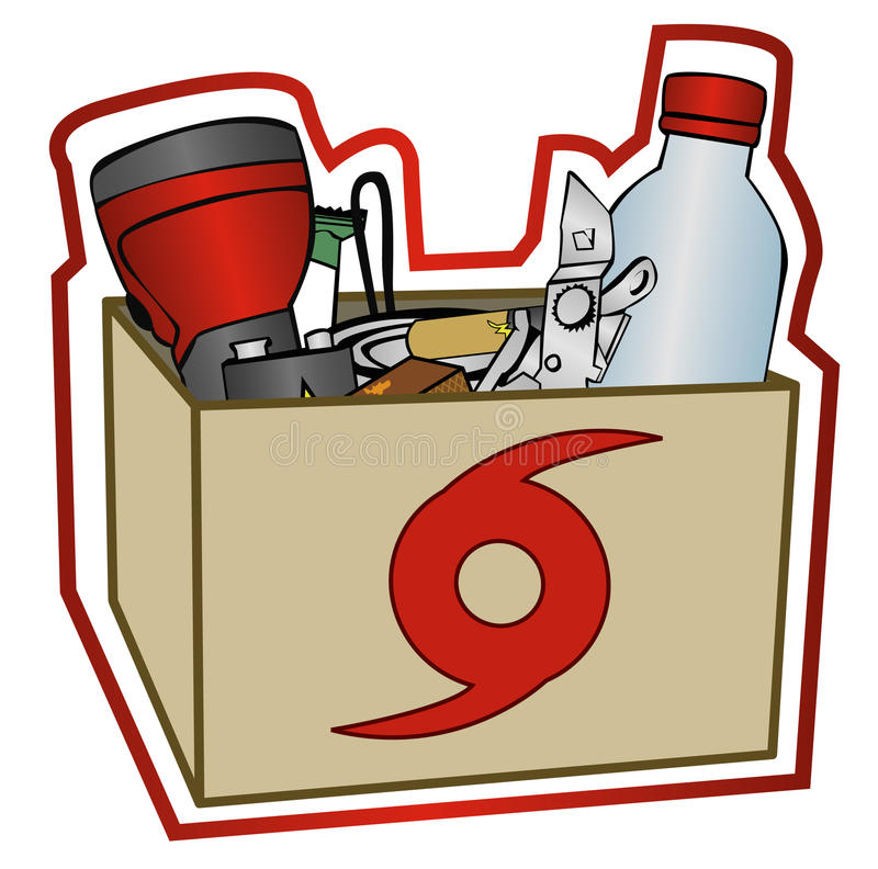 collection hurricane preparation items 9991312