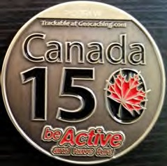 Canada 150 side of geocoin III