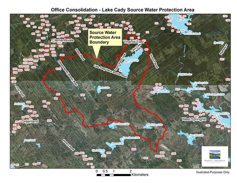 SWP LakeCady Map