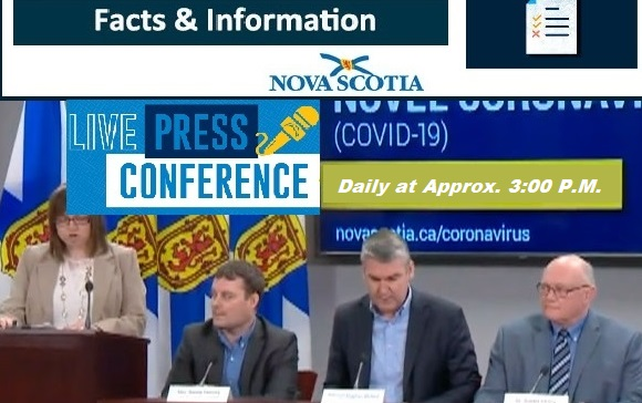 daily press conference banner for our website