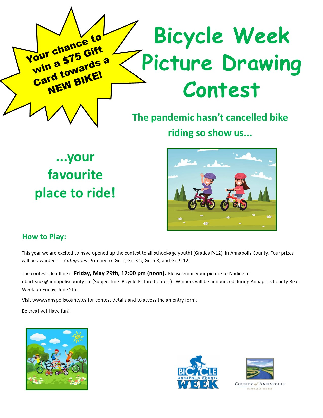 Picture Drawing Contest poster