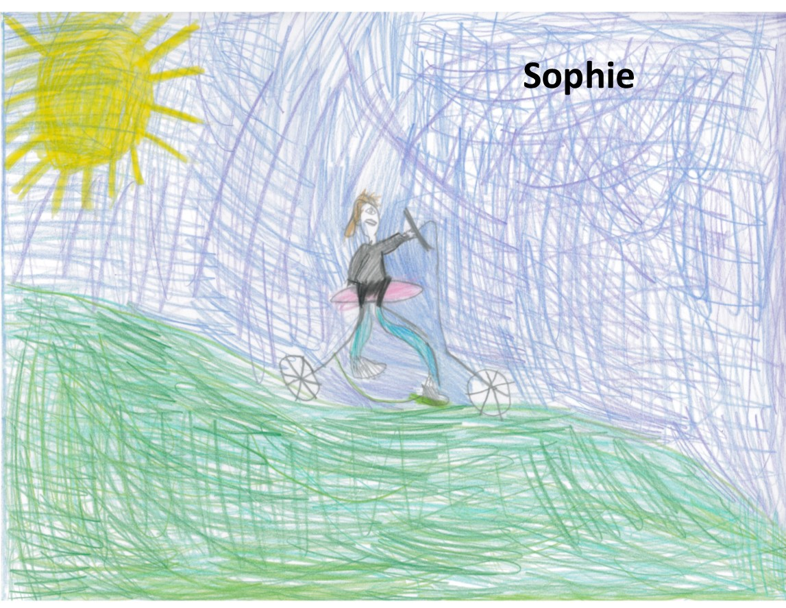 Sophie with name