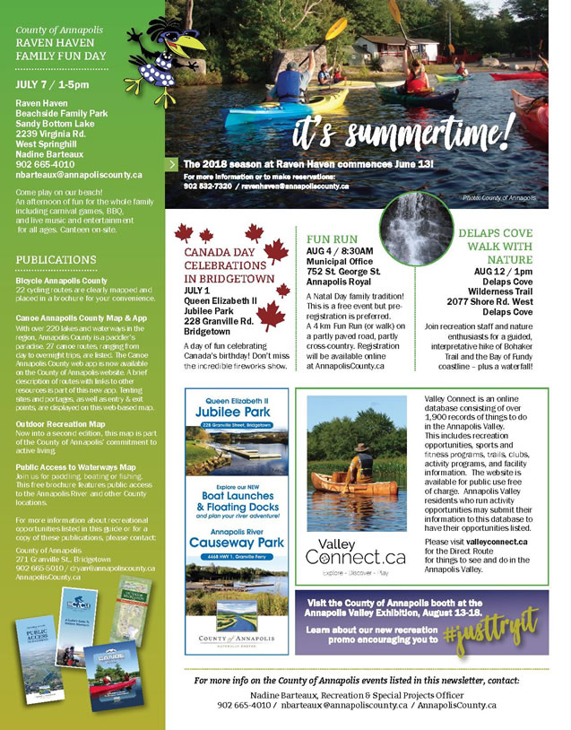 2018CountyAnnualNewsletter
