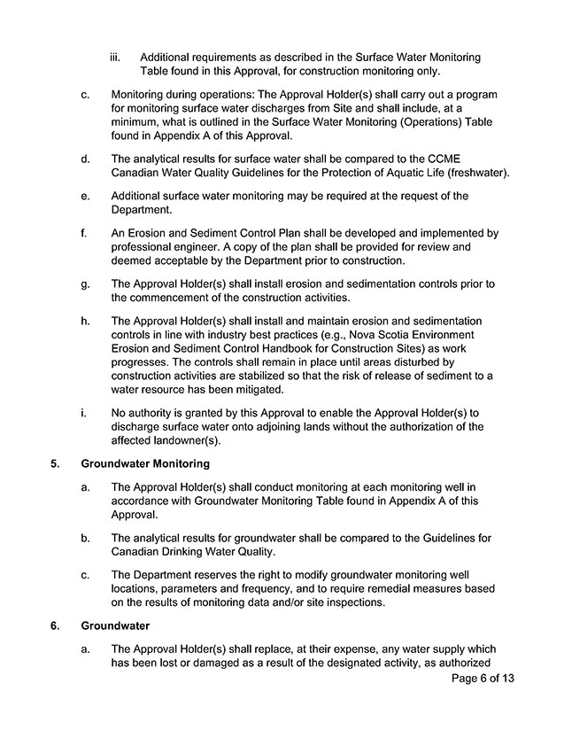 Approval Document 6