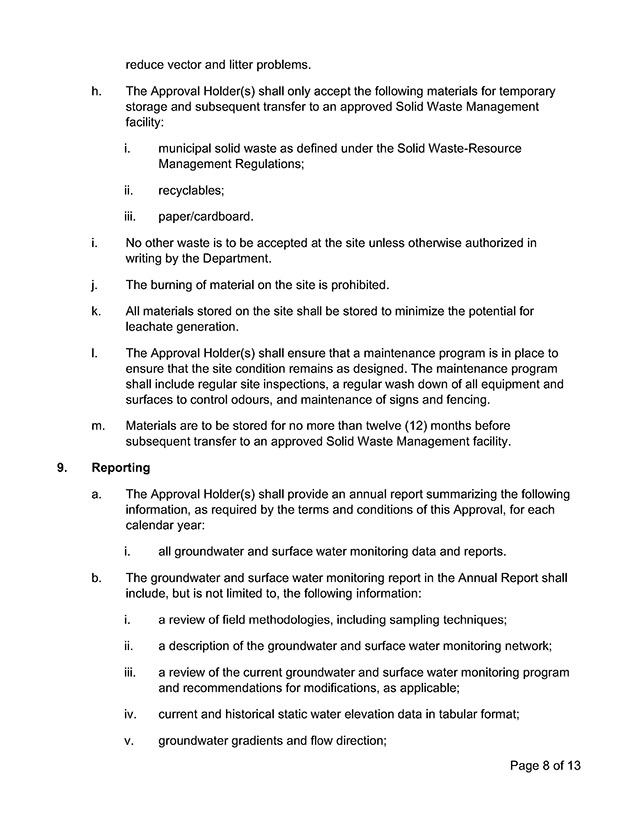 Approval Document 8