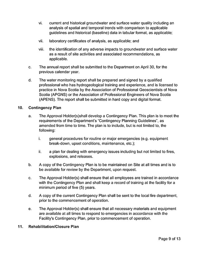 Approval Document 9